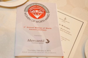 2016 Women of Worth Awards Luncheon
